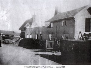 The King Billy was destroyed by fire in March, 1928