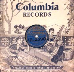 Indian Columbia record cover