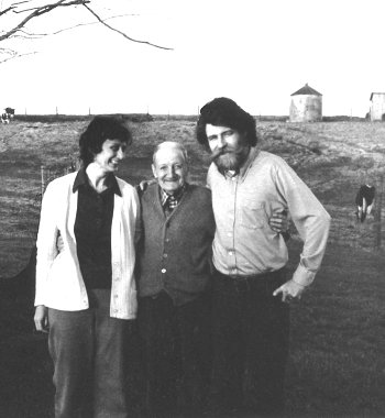 George Hawkins, with Nancy McLellan and Gus Meade