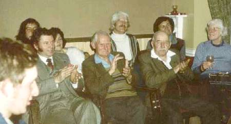 Sussex Singers Night at the Lewes Arms, early seventies.