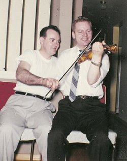 John with Buddy MacMaster