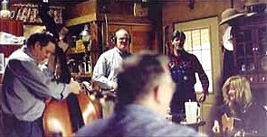 Recording at J P Fraley's, Denton, Ky, March, 1999.