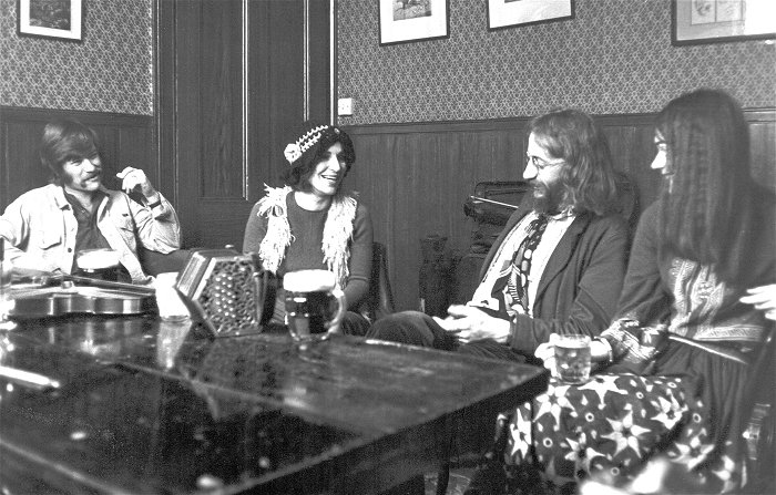 Oak in The Engineer, Camden Town, 1972