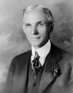 Henry Ford in 1919.