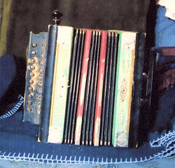Edna Jordan's grandmother's melodeon